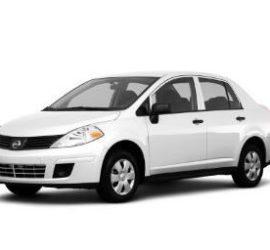 Nissan Versa White