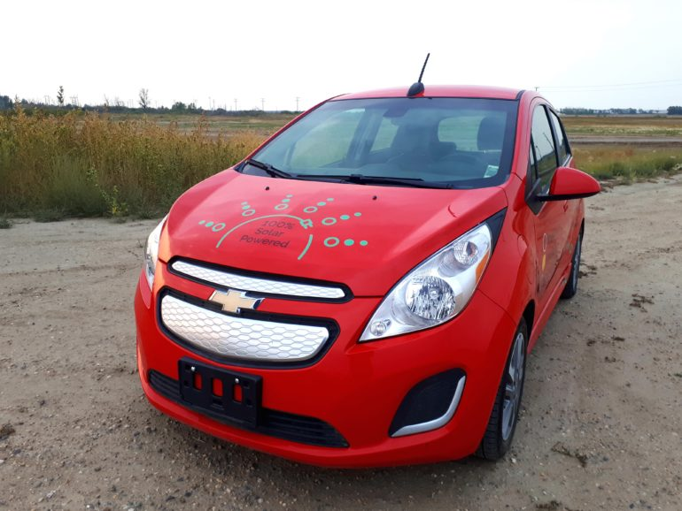 2015 Chevrolet Spark EV (Red)