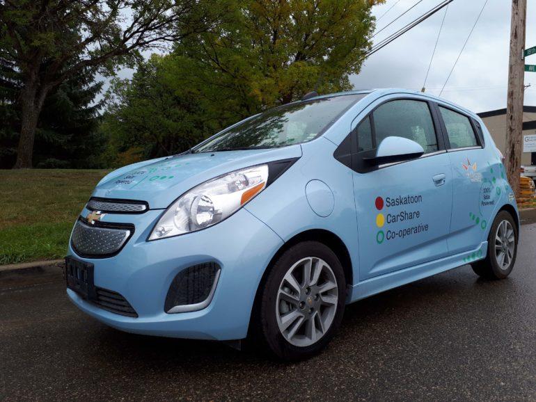2015 Chevrolet Spark EV (Blue)